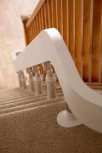 Brooks 80 Curved Stairlift modular track