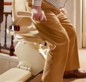 Example of Stairlift Swivel Seat