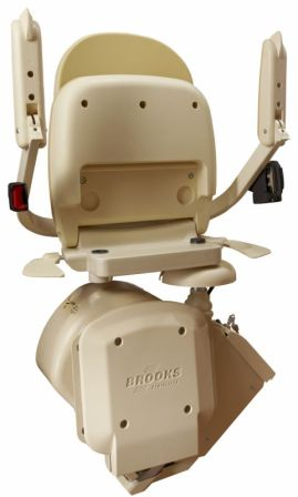 Outdoor Stairlift Folding