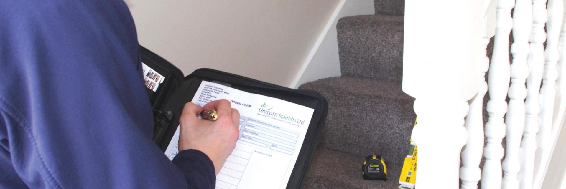 Stairlift survey
