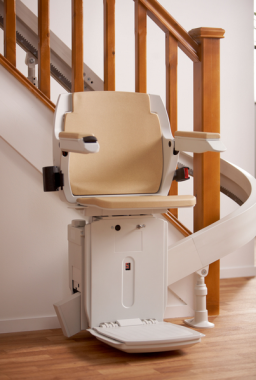 Bison 80 Curved Stairlift2
